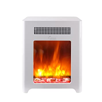 Amazon.com: Caesar Fireplace CHFP-003 Luxury Portable Mini Indoor ...