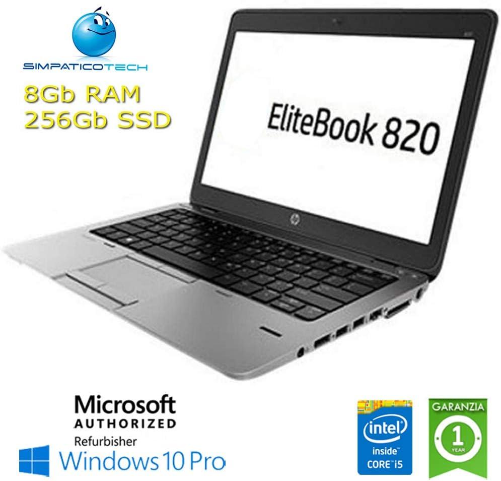 Notebook EliteBook 820 G2 Core i5-5300U 8 GB 256 GB SSD 12.1in ...