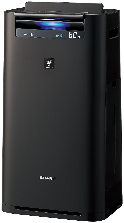 シャープ プラズマクラスター25000搭載 加湿空気清浄機 PM2.5モニター付 クラウド対応 グレー KI-HS50-H B075DBLM5C