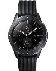 Samsung Galaxy Watch, Smartwatch Android, Bluetooth 4.2, processore Dual Core 1.15 GHz, Fitness Tracker e GPS, Nero, 42 mm [Versione Italiana]