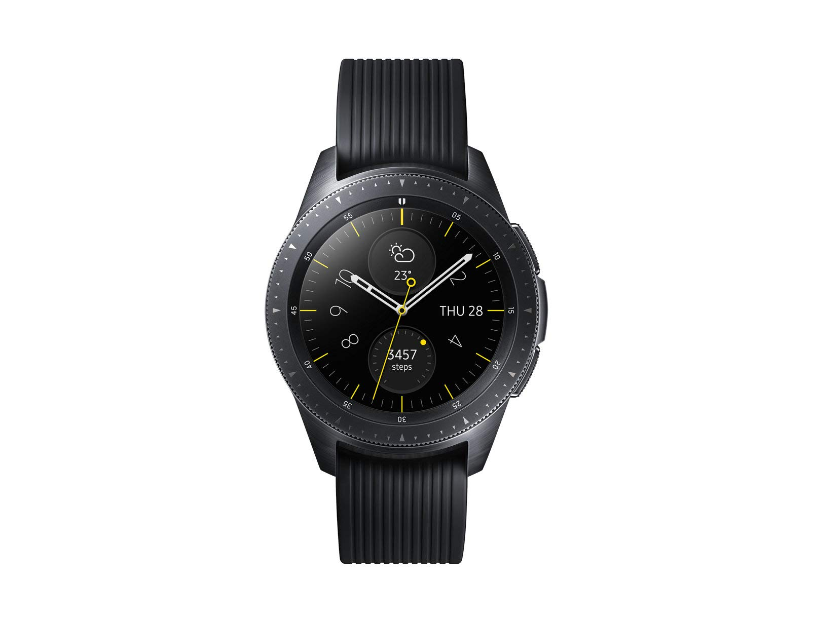 Samsung Galaxy Watch Smartwatch, Nero, Bluetooth, 42 mm [Versione Italiana] product image