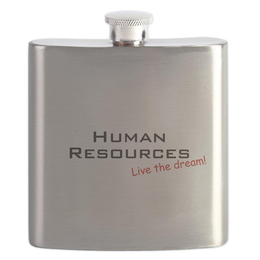 直送商品 CafePress – Human/ Resources/ Dream –。 – B01IUEVVMI ステンレススチールフラスコ、6オンス酒フラスコ B01IUEVVMI, 渋谷IKEBE楽器村:011a054e --- sww.zlatarezerva.cz
