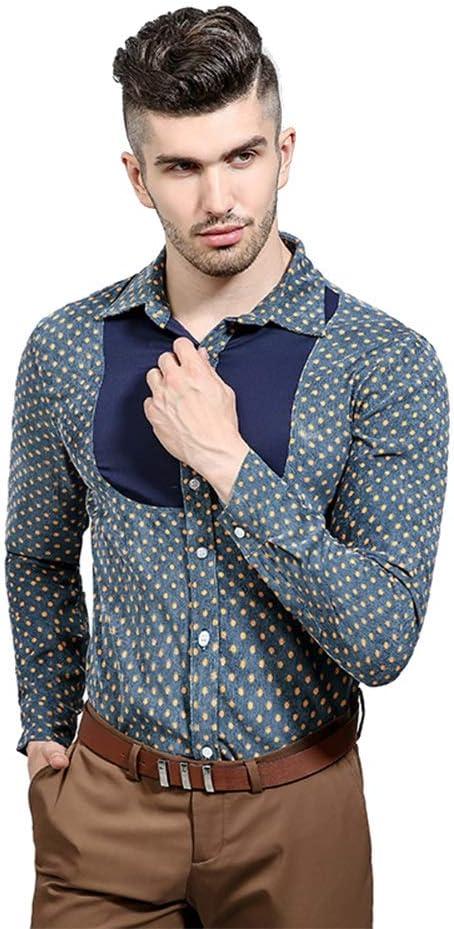 Belingeya Camisa de Vestir Slim fit para Hombre Camisas de ...
