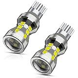 SEALIGHT T16 T15 LED バックランプ 高輝度 キャンセラー内蔵 後退灯 バックライト ホワイト LED 18連3030SMD 無極性 2個入 1年保証