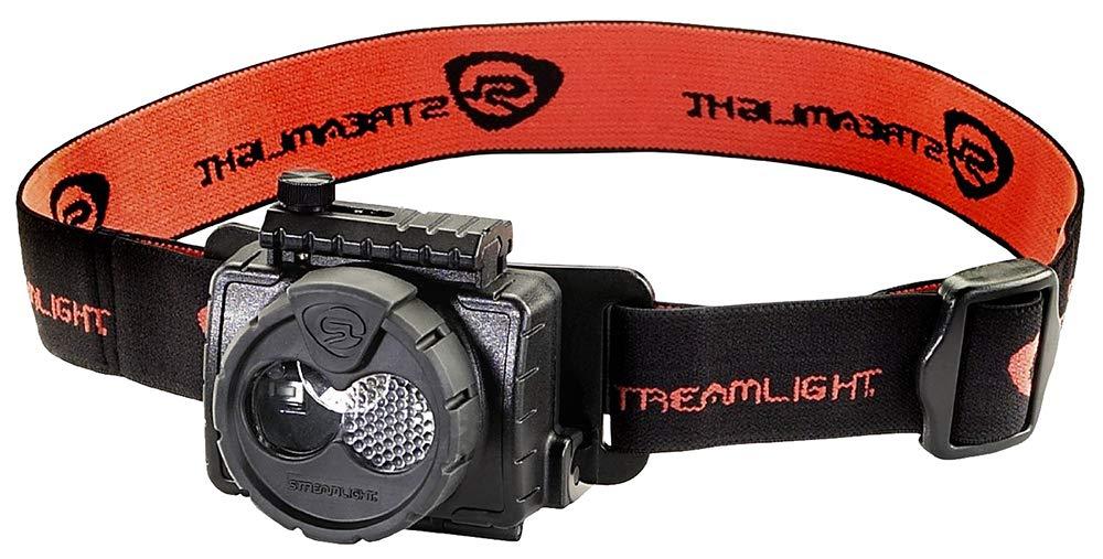 Streamlight 61601 Double Clutch USB Rechargeable Headlamp, Black - 125 Lumens by Streamlight