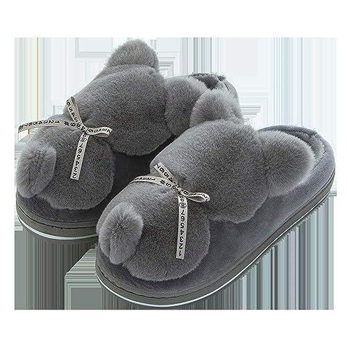 Zapatillas de algodón de Dibujos Animados Zapatillas de Mujer Zapatillas de Invierno para Interiores Zapatillas de algodón para Damas: Amazon.es: Zapatos y ...