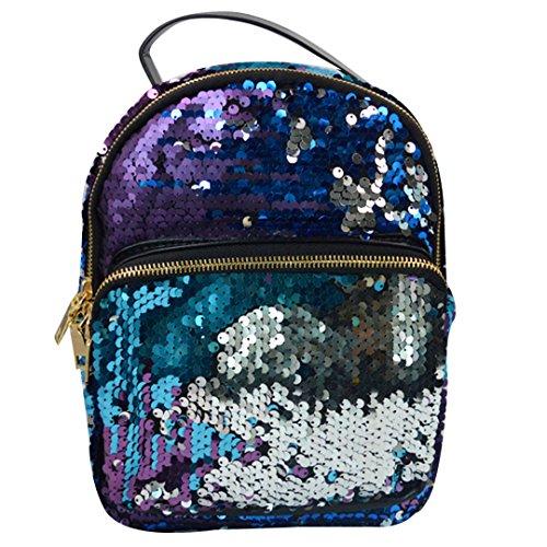 Meliya Mochila escolar, rosa (rosa) - HY-sb-00332-02YA azul