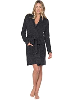 barefoot dreams cozychic robe at amazon women s clothing store