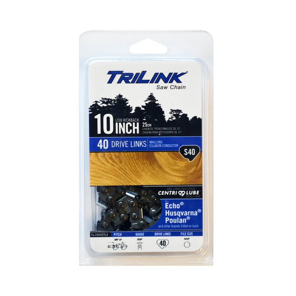 Trilink Saw Chain CL15040TL CP-5 S40 10'' Chain