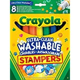 Crayola 8-Ultra Clean Marker Stampers by Crayola