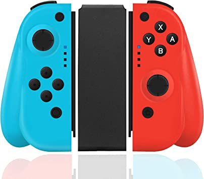 Elyco Mando para Nintendo Switch, Wireless Bluetooth Controller Gamepad Joystick Joycon Controlador Compatible con Nintendo Switch Inalámbrico Controller: Amazon.es: Electrónica