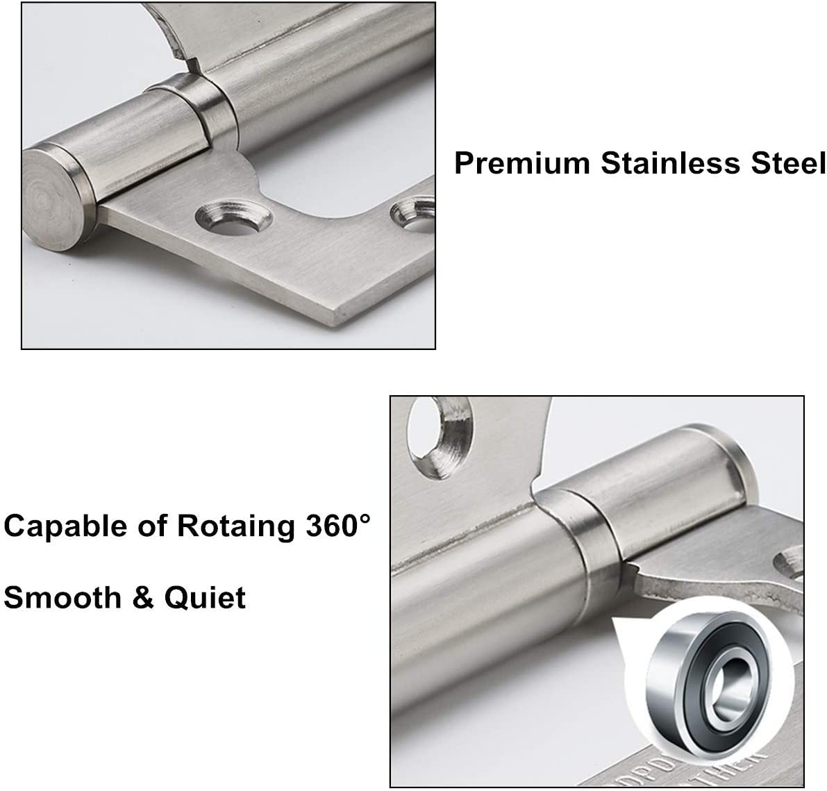 Pin Model Number FBP100GF 4in. 100mm Buyers Weld-On Bullet Hinge x 19.5mm; 10mm Dia