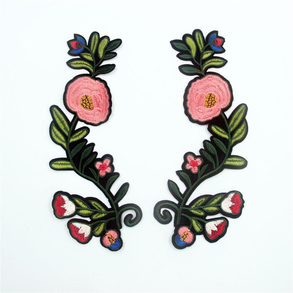 3 Piezas Exquisita Serpiente Patrón Floral DIY Ropa Parches ...