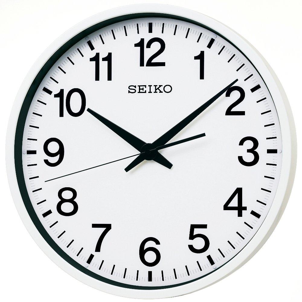 Amazon seiko clock seiko clock gps satellite radio waves amazon seiko clock seiko clock gps satellite radio waves hanging clock white gp201w kitchen dining amipublicfo Choice Image