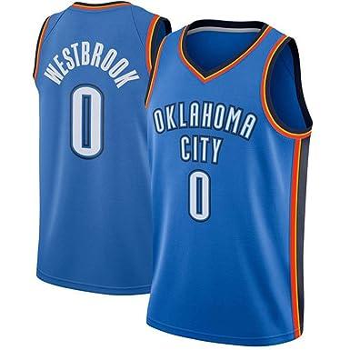 Russell Westbrook # 0 Camiseta De Baloncesto para Hombre - NBA ...