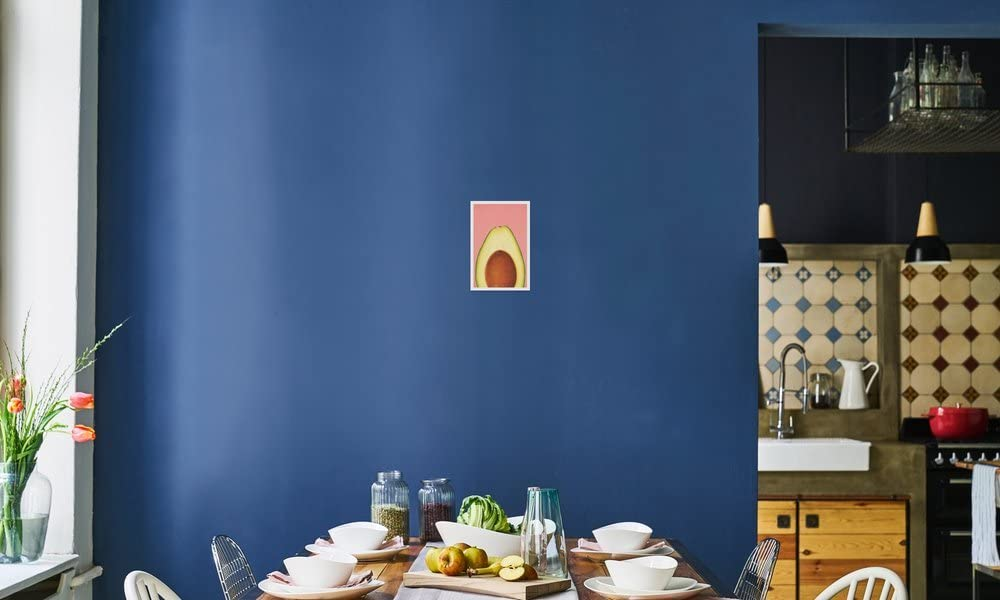 Orange Au motif de moufette Autocollant pour porte de toilette Vinyle W669 10 x 15 cm