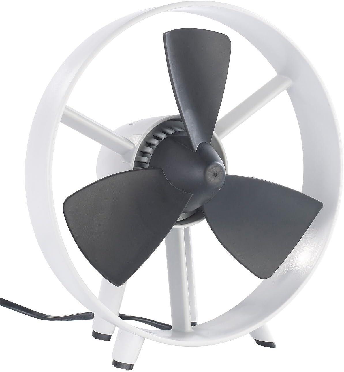 Ventilador Silencioso - Diseño - Palas en Goma Flexibles- Sin ...