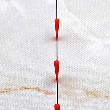 OUNONA 1000pcs Syst/ème De Nivellement Carrelage Coins Professionnel Anti-liant Tile Niveler Coins Rouge Petit Plancher Mural Plat