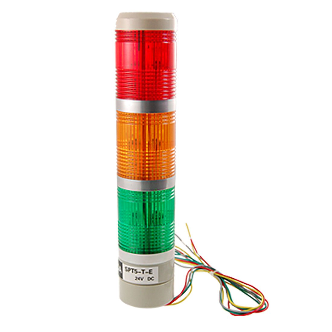 DC 24V Industrial Tower Signal Alarm Lamp Red Green Yellow Light