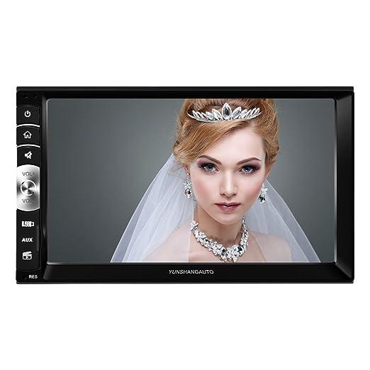 8 opinioni per Yunshangauto® 7 Pollici Universale 2 Din HD Auto Radio MP5 Lettore Bluetooth