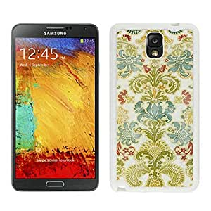 BINGO retail Colorful Damask Samsung Galaxy Note 3 Case White Cover