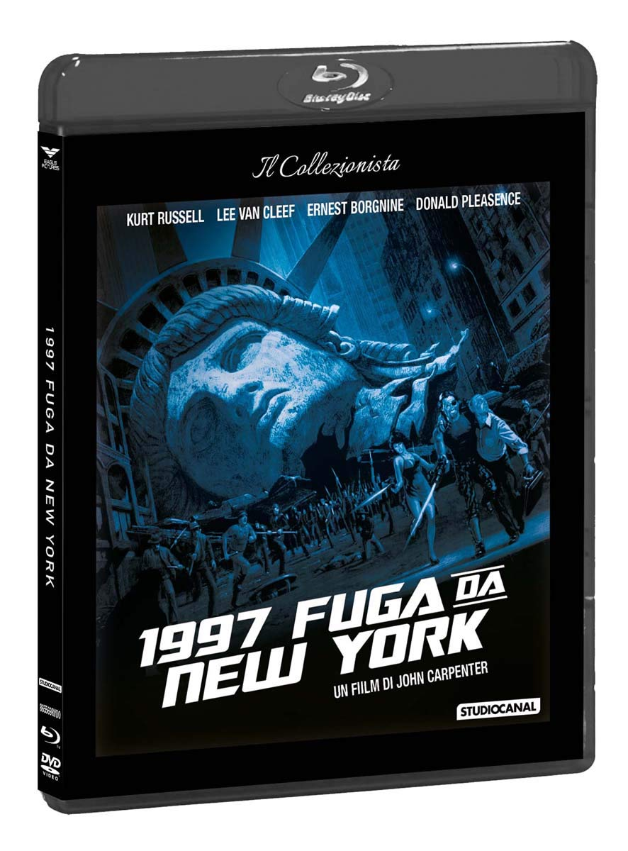 1997: Fuga Da New York Dvd+Blu-Ray Italia Blu-ray: Amazon.es ...