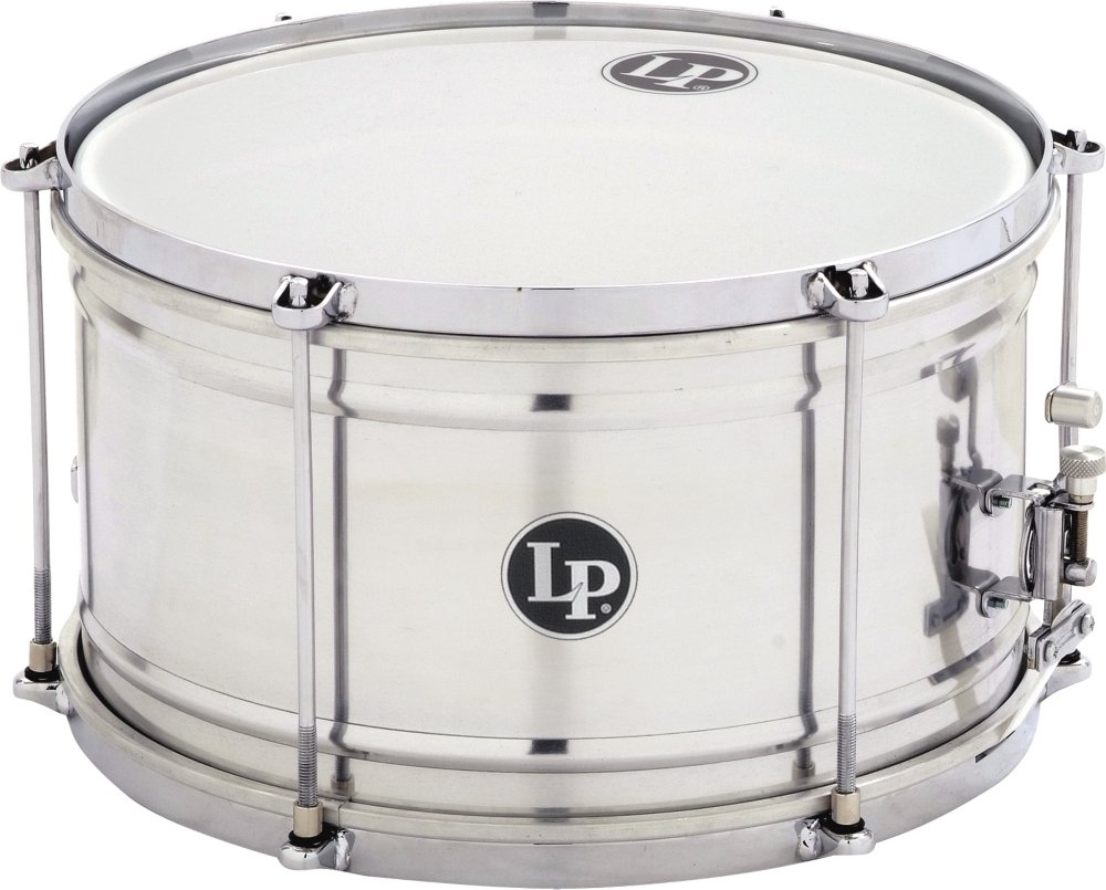 Latin Percussion Aluminum Caixa Snare Drum, 7X12 KMC Music Inc LP3212