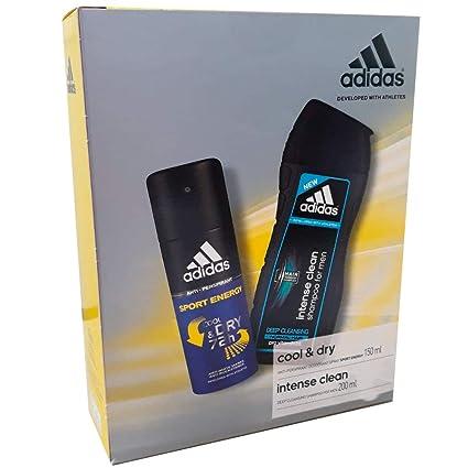 Estuche Adidas Desodorante + Champú Cool: Amazon.es: Belleza