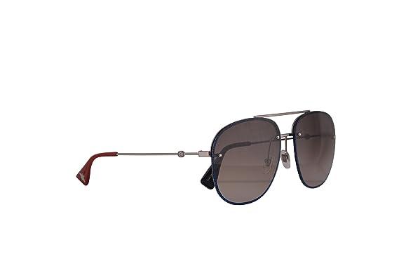 75b5657fb78 Gucci GG0227S gafas de sol w Brown Gradient lente 62mm 002 GG0227   S GG  0227   S GG 0227S mujer Rutenio Grande  Amazon.es  Ropa y accesorios