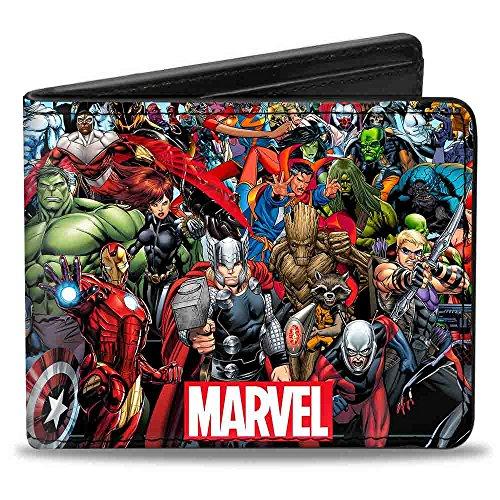 Buckle-Down Bifold Wallet Marvel Universe