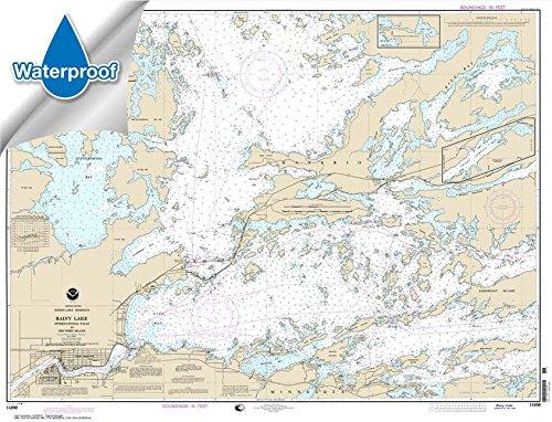 NOAA Chart 14998: Rainy Lake-International Falls to Dryweed Island 31.9 x 41.8 (WATERPROOF)