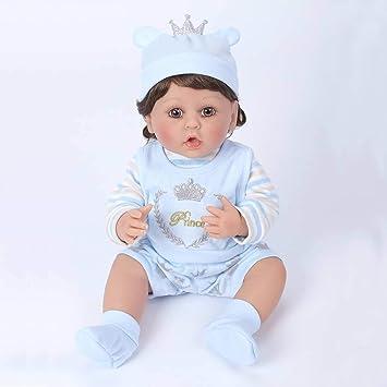 Amazon.es: Pursue Baby Cuddly muñecos Reborn Reales Cuerpo ...