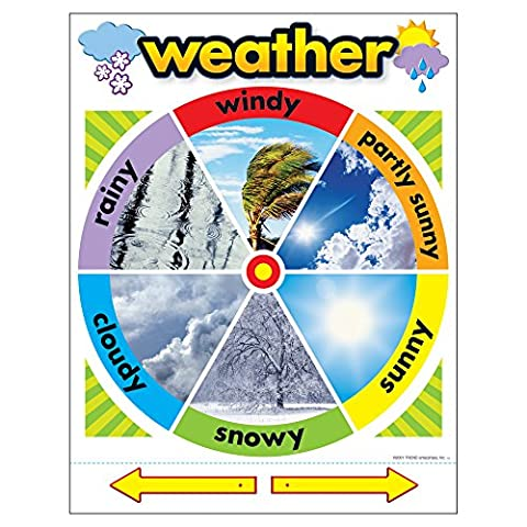 Trend Enterprises Weather Learning Chart (T-38046) (Trend Educational Products)