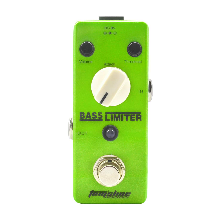 Tom'sline Bass Limiter Electric Bass Guitar Effect Pedal True Bypass