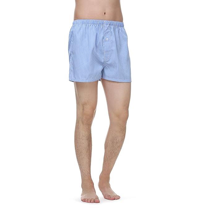Janeo British ropa para hombre Pack de 3 calzoncillos ropa interior set. Azul y color