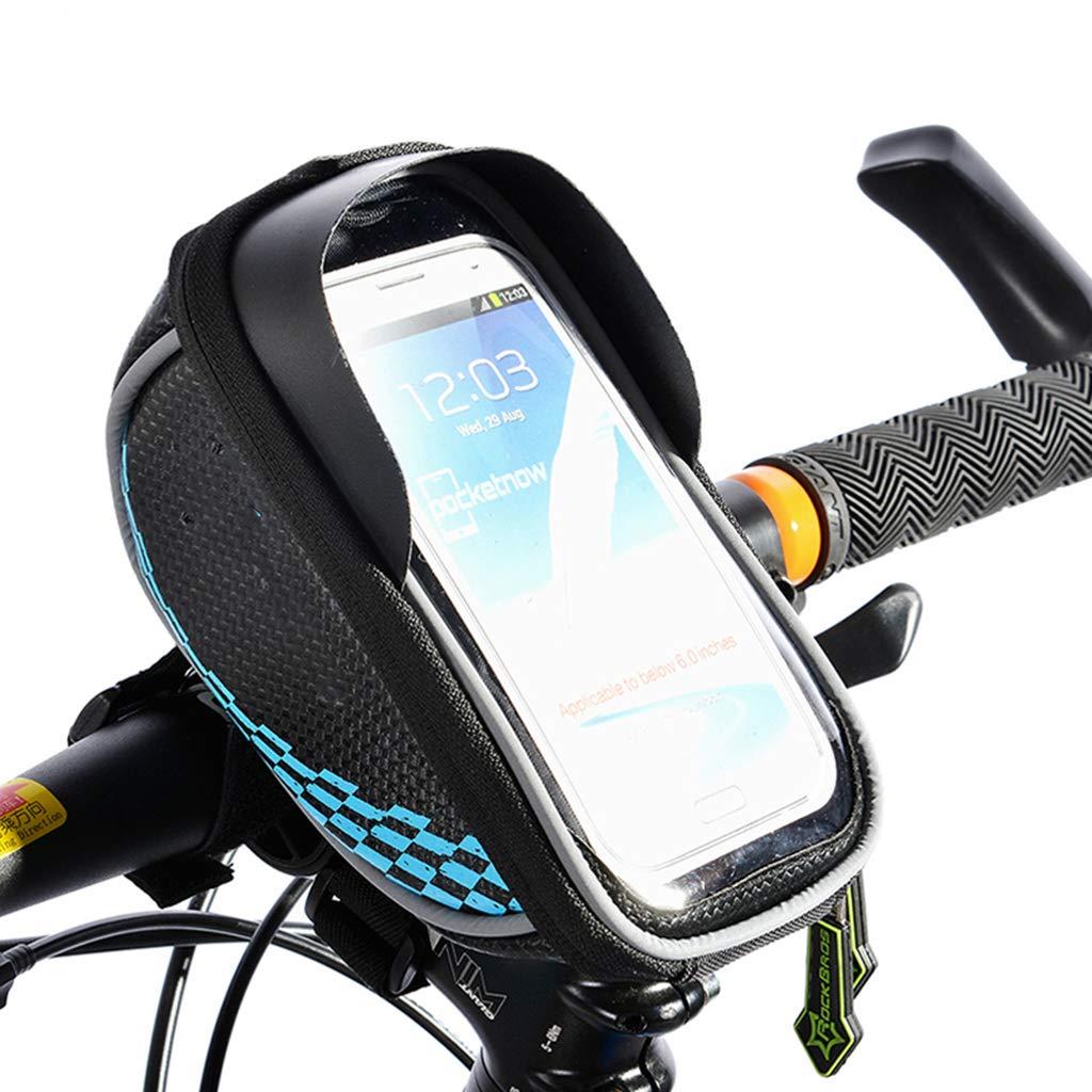 JIBO Smartphone & GPS Touchscreen Fahrrad Tasche Radfahren Handytasche Fahrradrahmen Frontschlauchbeutel