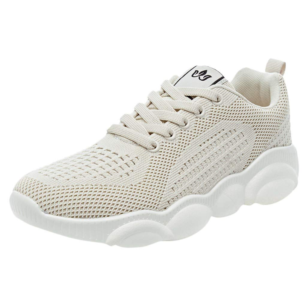Women Fashion Outdoor Mesh Casual Sports Shoes Cartoon Sole Summer Shoes Athletic Support Walking Shoes