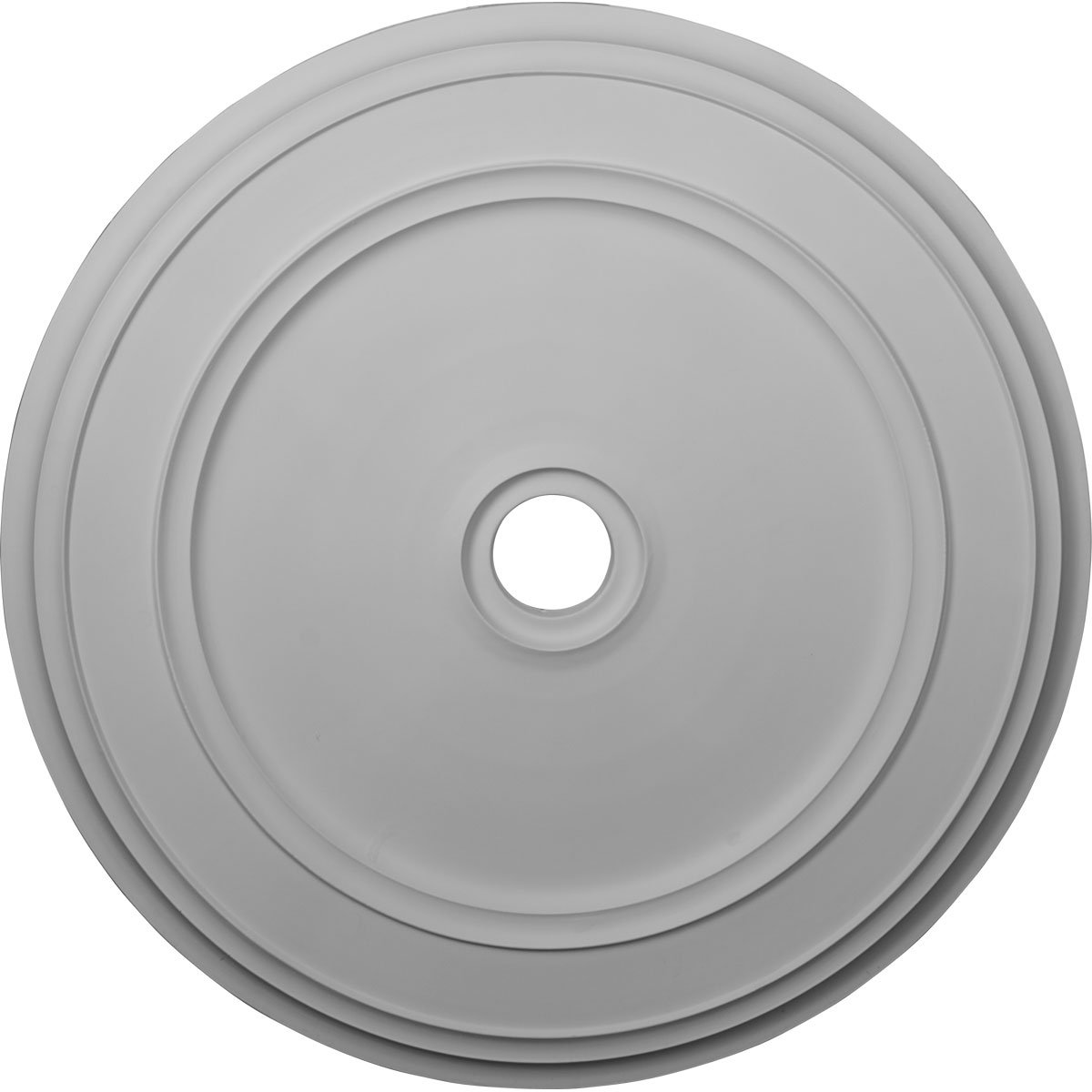 Ekena Millwork CM41CL 41.12 in. OD x 4 in. ID x 2.12 in. P Architectural Accents - Classic Ceiling Medallion Fits Canopies up to 5.50 in.