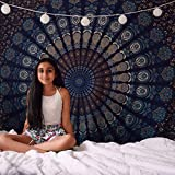 Batwada Exclusive Indian Twin Hippie Mandala Tapestry Wall Hanging Throw Bohemian-Bedspread Decor