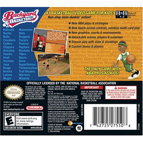 Backyard Basketball - Nintendo DS Countdown