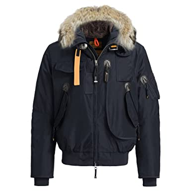 Parajumpers Gobi Mens Hooded Bomber Jacket Navy S
