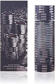 Davidoff The Game Eau de Toilette Spray for Men, 3.4 Ounce