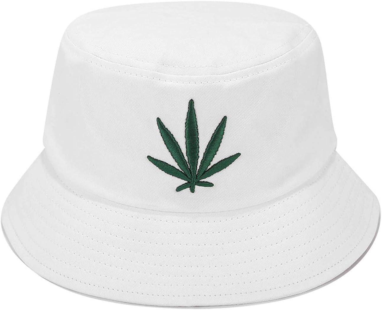 Marijuana Leaf Bucket Hat...
