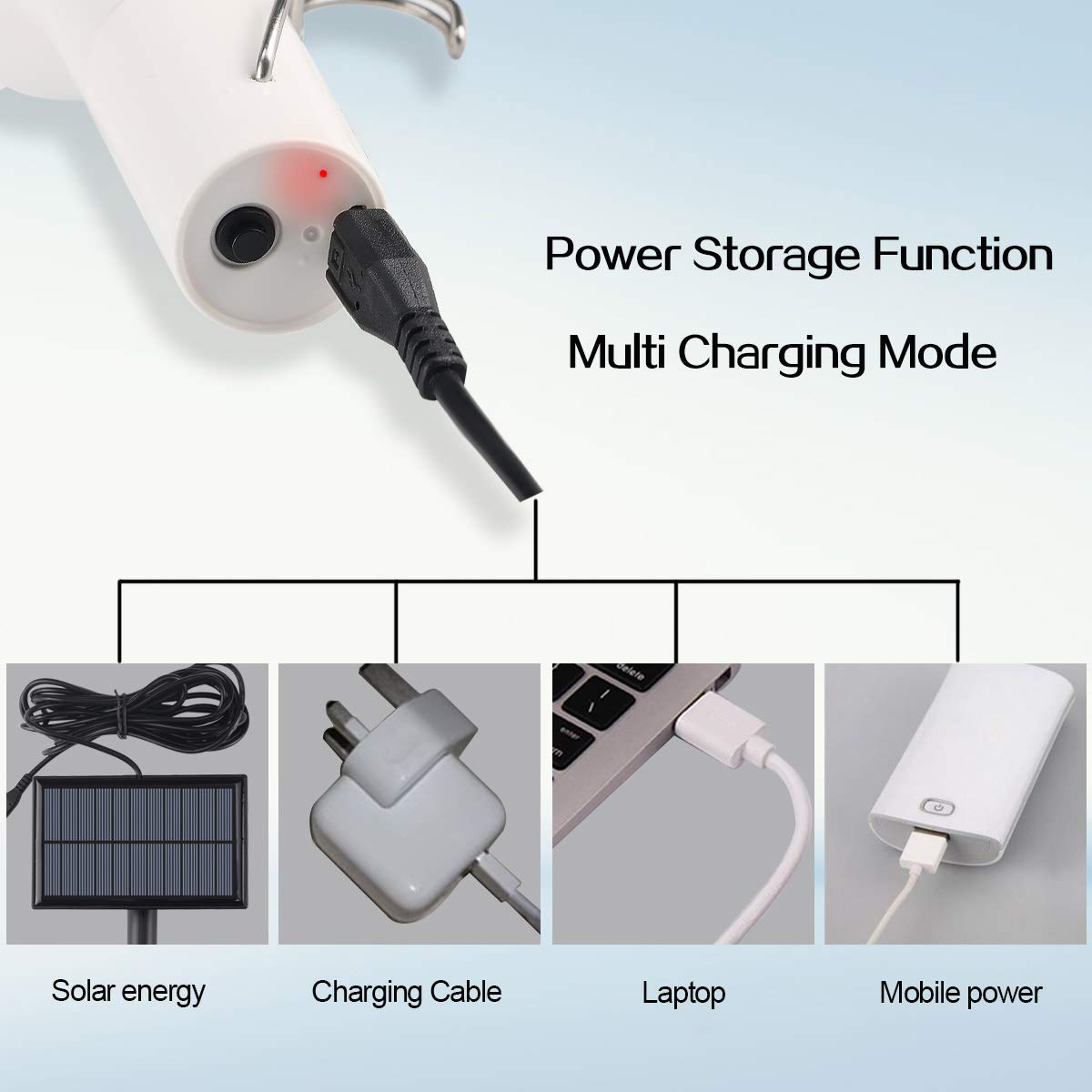 Solar Lights Bulbs Portable Led Light With Panel 120lm Wiring In A Shed 1200mah Power Storage For Home