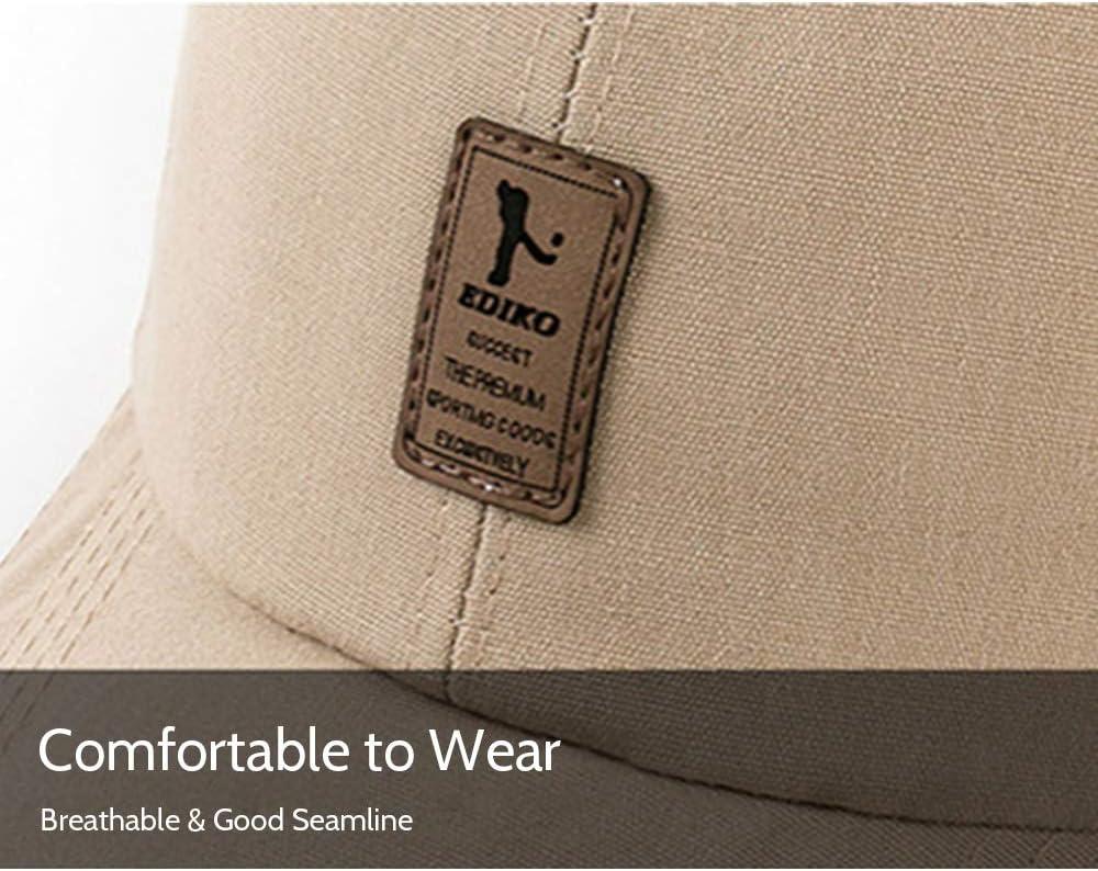 Cappello Sportivo con Visiera Confortevole Leepesx Cappello Sportivo da Baseball per Uomo