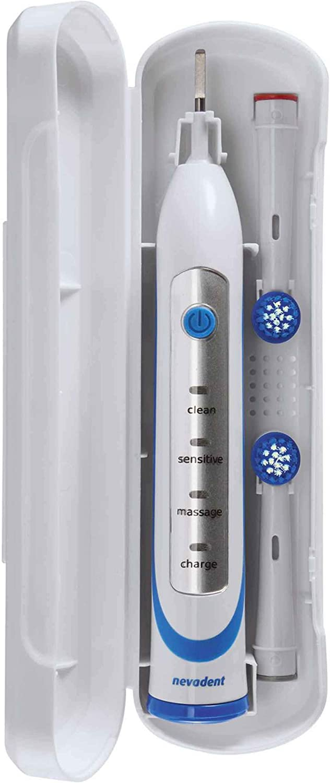 Nevadent NAZ 3.7 A1 - Cepillo de dientes eléctrico con base de carga: Amazon.es: Salud y cuidado personal