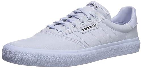 7fb25f53e0e0a adidas 3MC Skate Shoe, White, Gold, 7.5M US