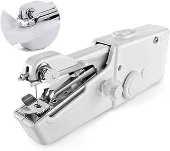 Dyna-Living - Mini máquina de Coser portátil AA Funciona con Pilas para pequeños Trabajos de Costura, Ropa, Cortina, Bricolaje: Amazon.es: Juguetes y juegos