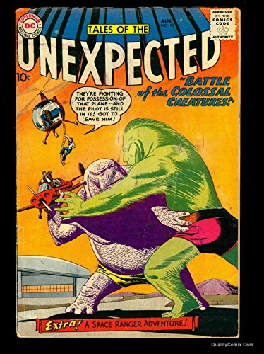 Tales Of The Unexpected #40 VG- 3.5