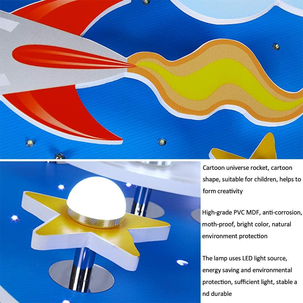 Plafoniera Lampada Da Soffitto A LED Per Cameretta Per Bambini Plafoniera Stellata Cosmic Creativa Da 35W Dimmerabile Con Telecomando /Ø61cm Luce Camera Da Letto Per Ragazzo E Ragazza